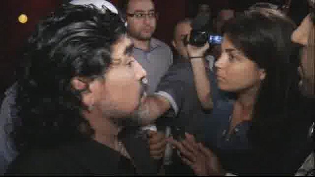 Maradona en Conexión Samanta