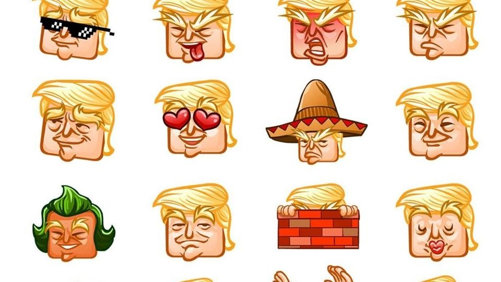 Emojis de Donald Trump