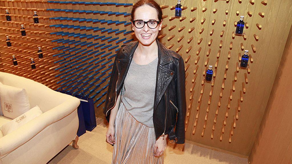 """La diseñadora Ana Locking, que ha triunfado en esta edición de MBFWM con """"Antihéroes"""""""