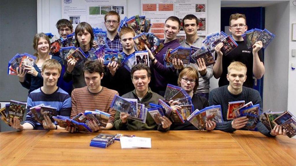 Los miembros de la investigación de la Universidad Estatal de Lomonosov