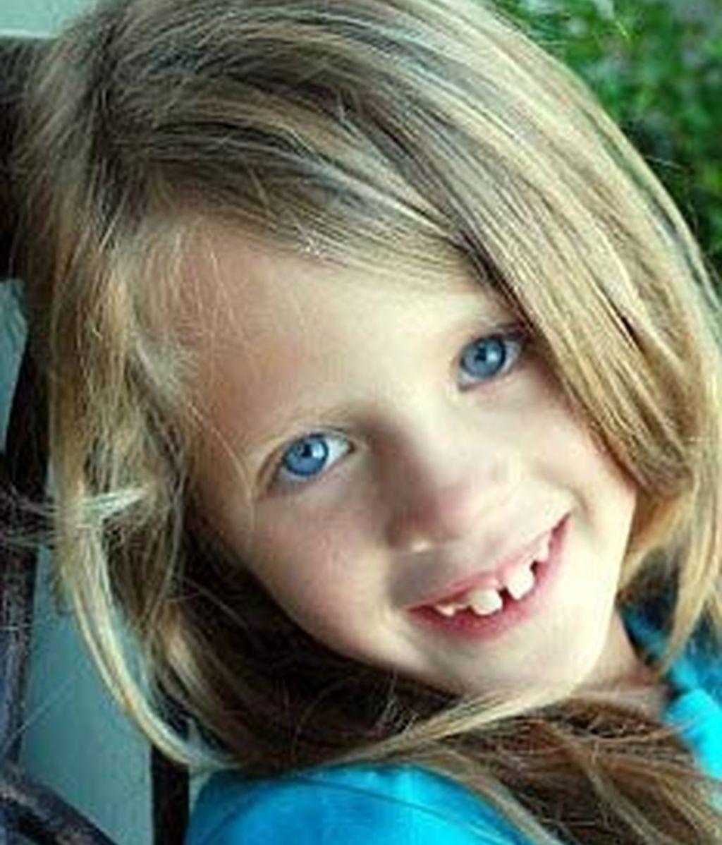 La pequeña Samantha, de seis años. Foto: Daily Mail