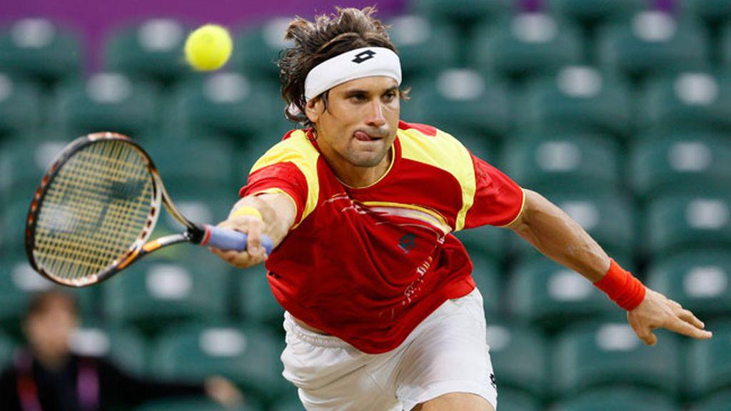 David Ferrer en las Olimpiadas de Londres 2012