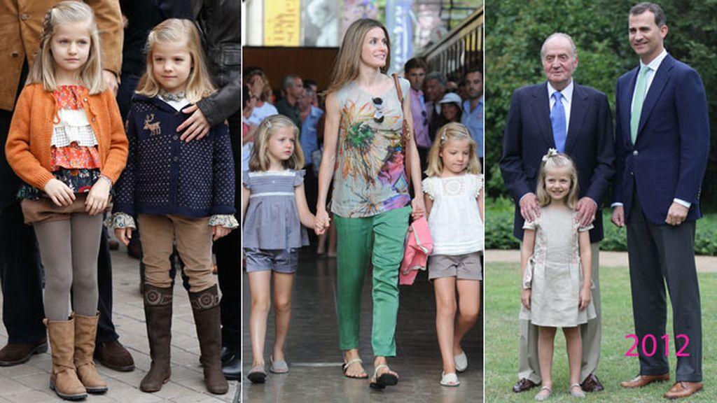 2012: la foto de las tres generaciones