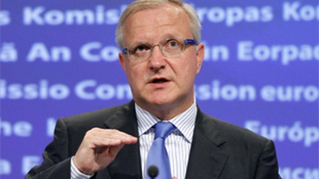 El comisario europeo de Asuntos Económicos y Monetarios, Olli Rehn.