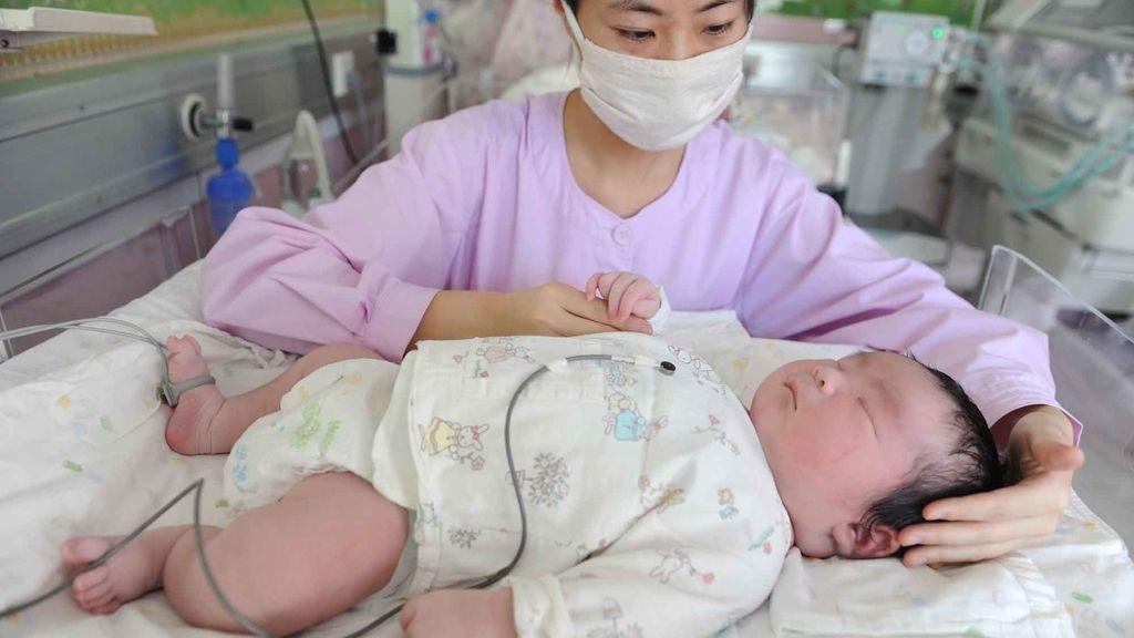 Nace un bebé de más de 6 kilos en China
