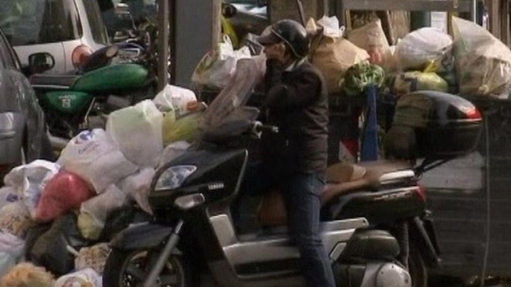 Nápoles contra el basurero