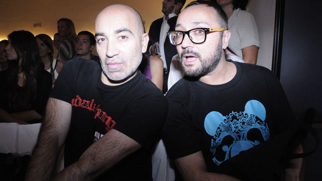 Juan Bautista Cucarella y Daniel Pannullo