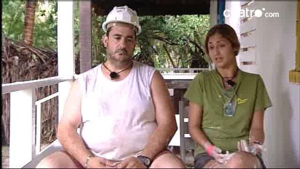 Los chorretones, Yéssi y Antonio