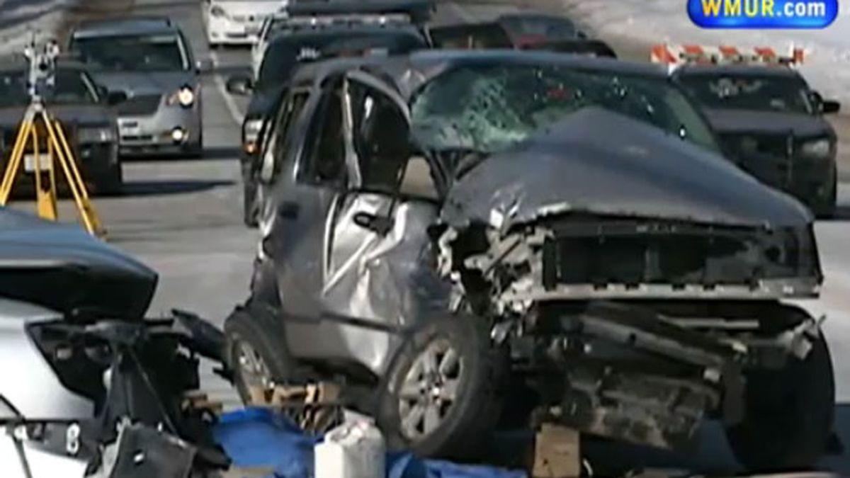 bombero,rescata,hija,Nueva Hampshire,accidente de tráfico,