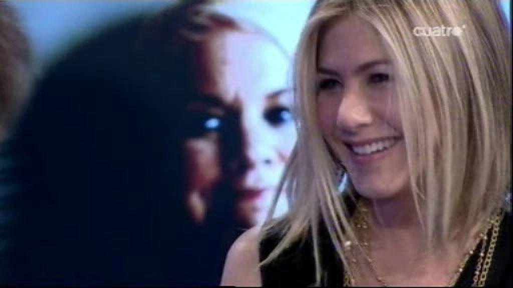 Pablo Motos explica a Jennifer Aniston lo que es el amor