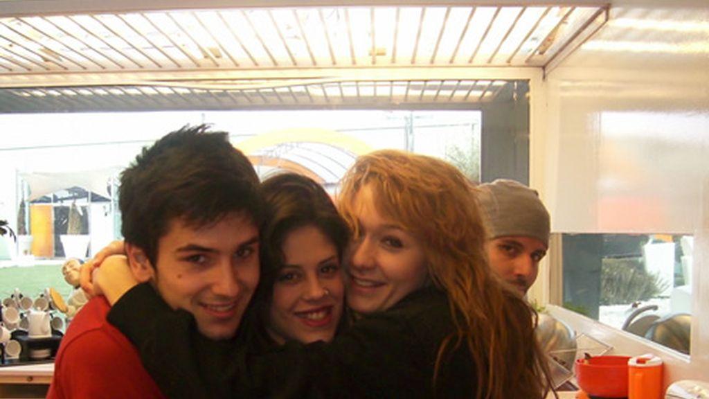 Kevin, Sonia y Lisa