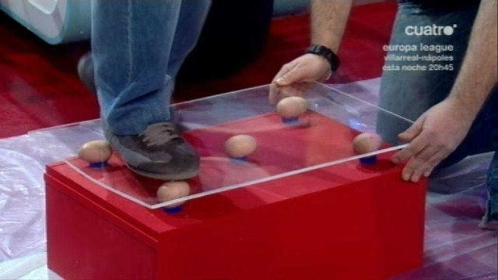 El reto de los huevos