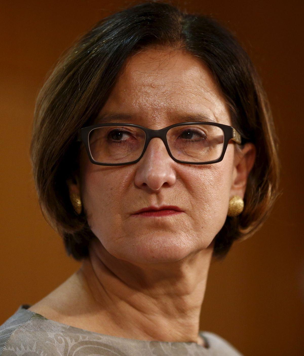 Johanna Mikl-Leitner, ministra de Interior de Austria