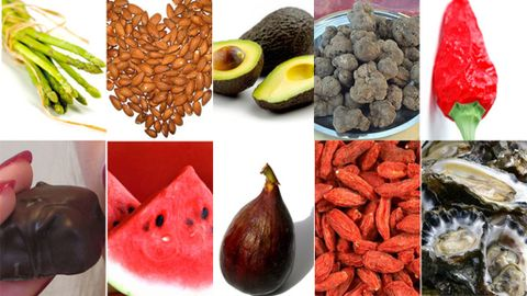 Resultado de imagen para alimentos afrodisiacos