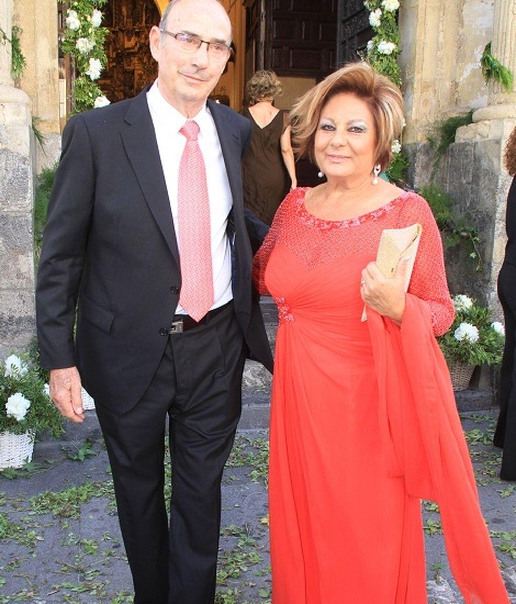 Los padres de Enrique Ponce