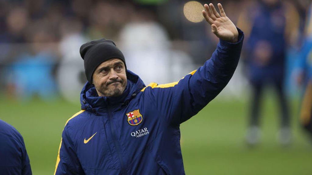 Luis Enrique, entrenador FC Barcelona