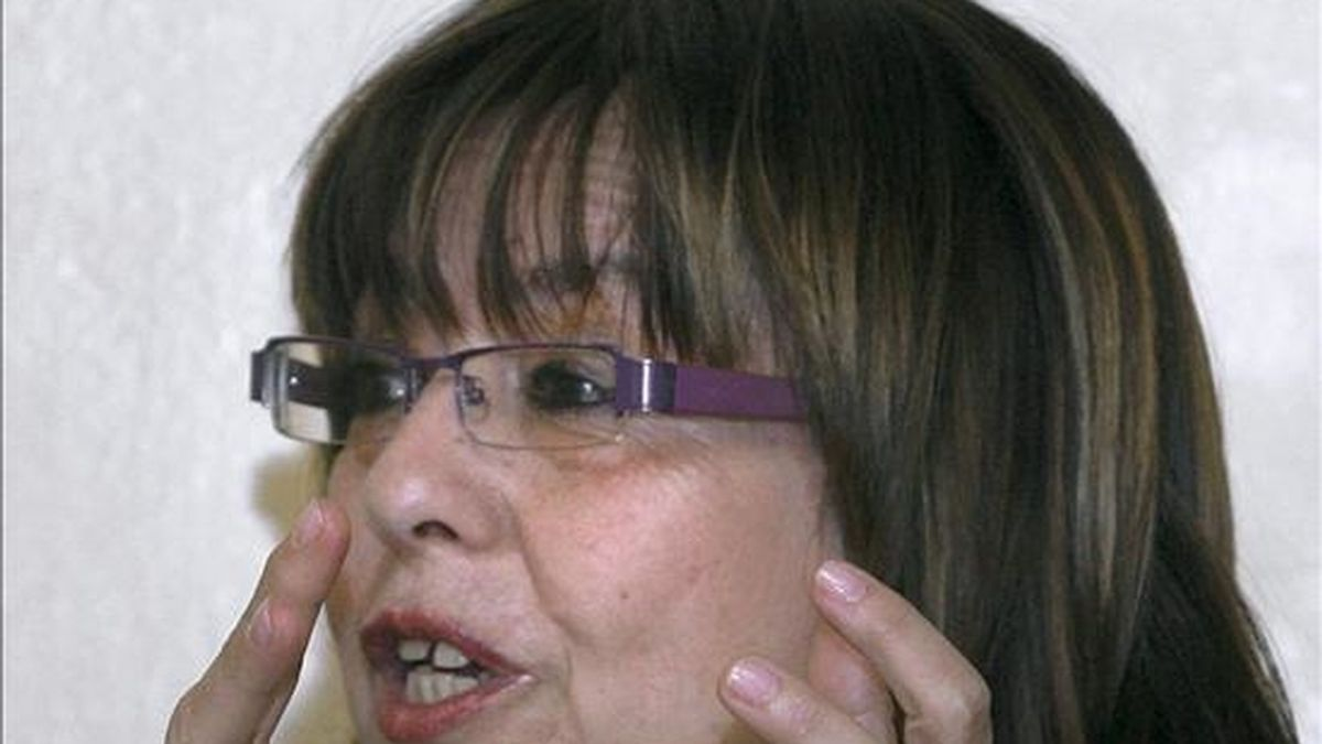 La periodista Nana de Juan. EFE/Archivo