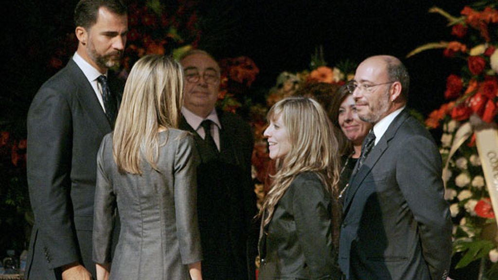 Los Príncipes despiden a López Vázquez
