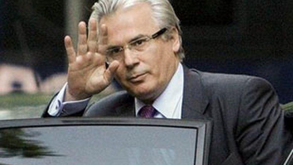 Imagen de archivo del juez Baltasar Garzón. Foto: EFE.