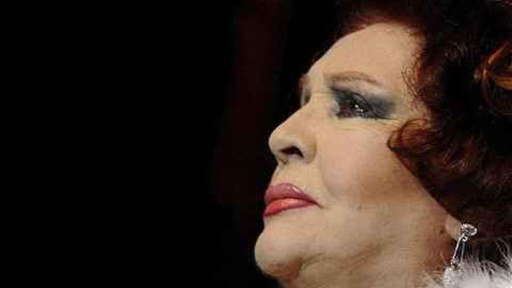 Imagen de archivo de la cantante y actriz Sara Montiel