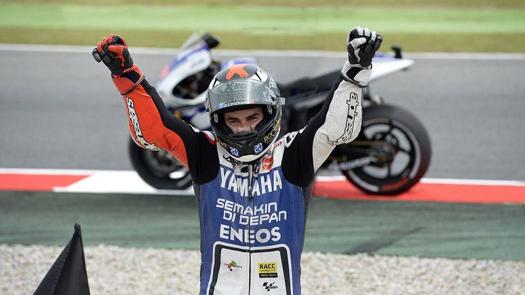 2012, le vuelve dar a Lorenzo el título de campeón del mundo de MotoGP