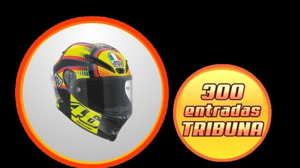 Sorteo 300 entradas de Tribuna para Cheste + Casco Rossi