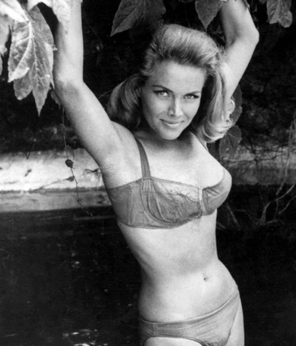 Honor Blackman, en 'James Bond contra Goldfinger'