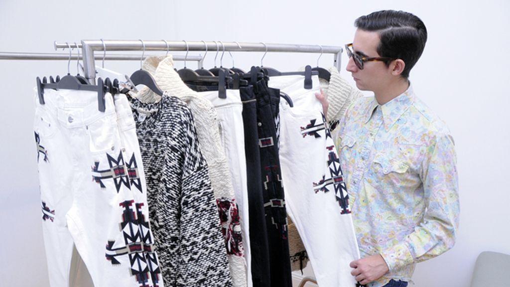 Los icónicos vaqueros de Isabel Marant no faltan en su colaboración con H&M