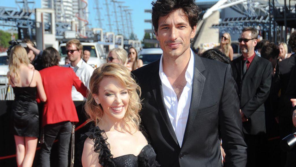 Kylie Minogue y Andrés Velencoso, 10 años de diferencia