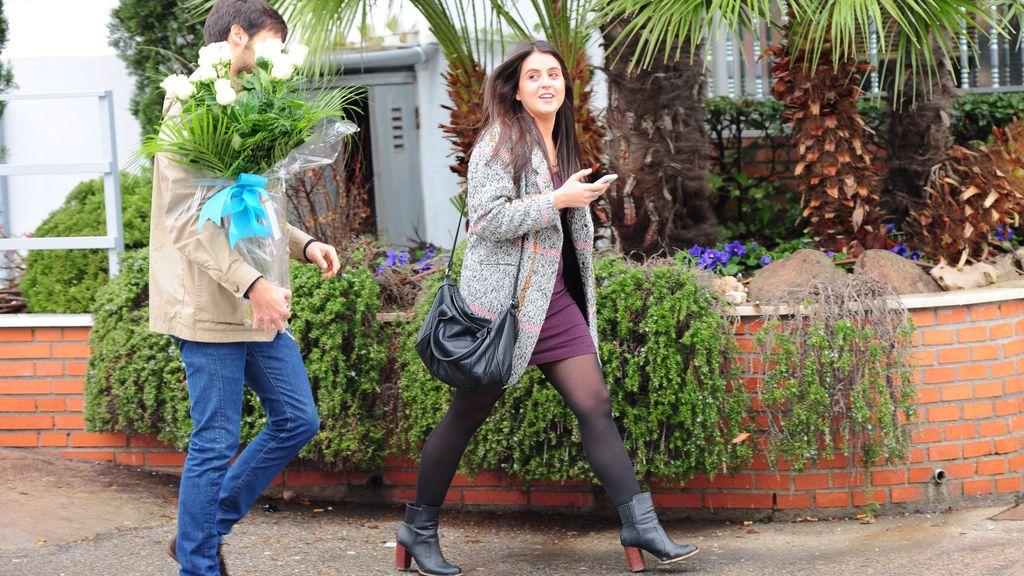 Cristina Carbonero, feliz por el nacimiento