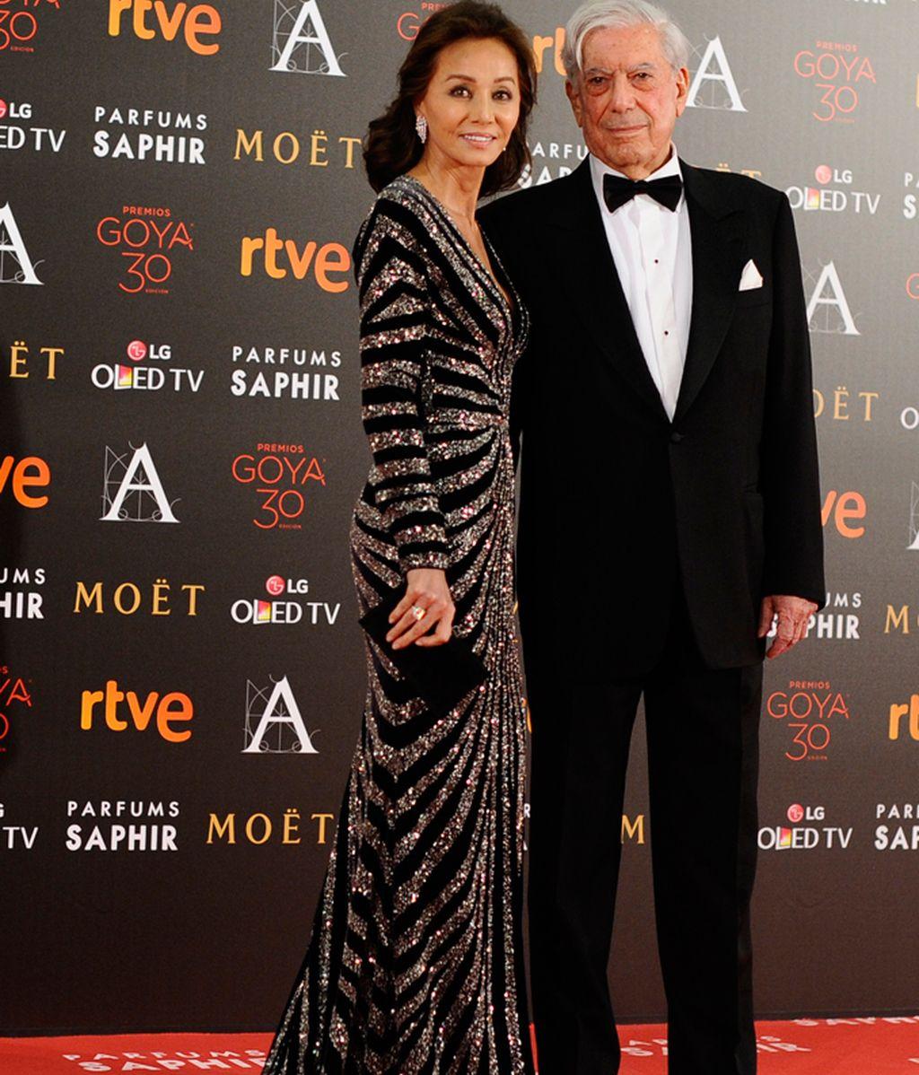 Isabel Preysler junto a Mario Vargas Llosa