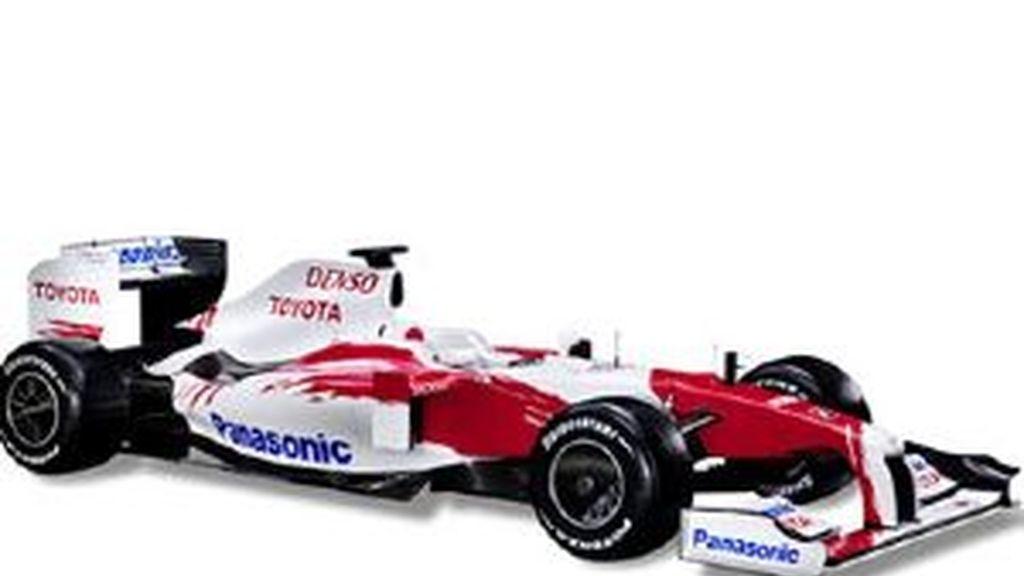 El nuevo TF109 se ha adaptado a la nueva normativa. Foto: toyota-f1.com
