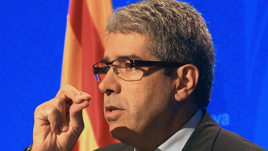 Francesc Homs, conseller de Presidencia y portavoz del Govern