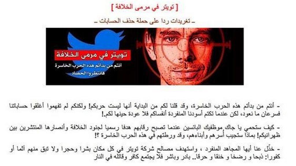 Investigan supuestas amanezas del Estado Islámico al cofundador de Twitter