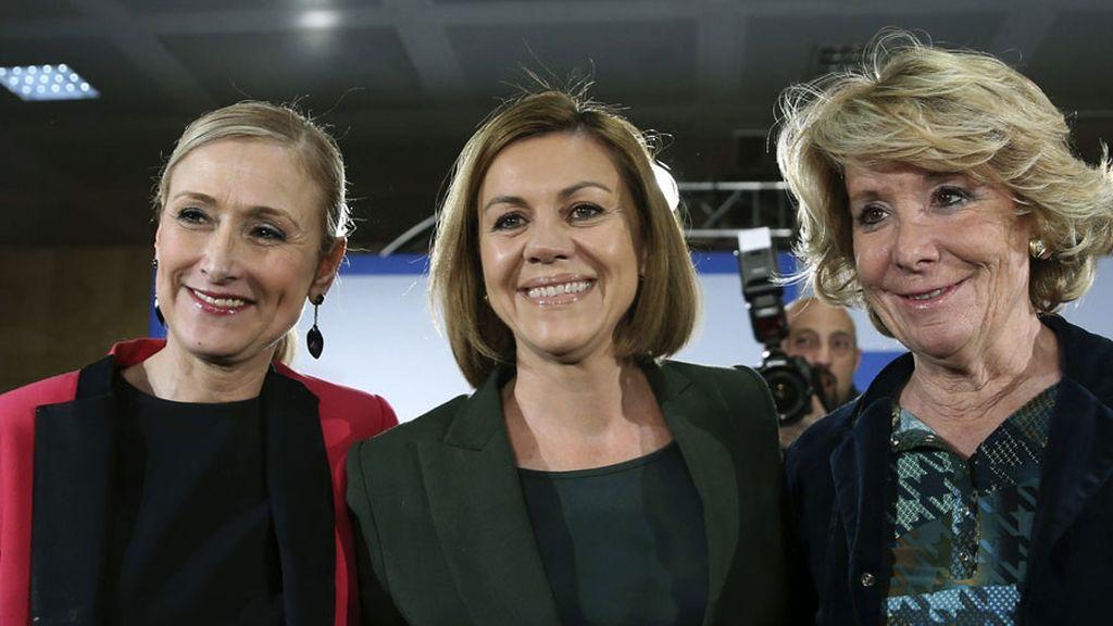 """Cospedal presume de candidatos """"reconocibles"""" y """"creíbles"""" en el PP"""