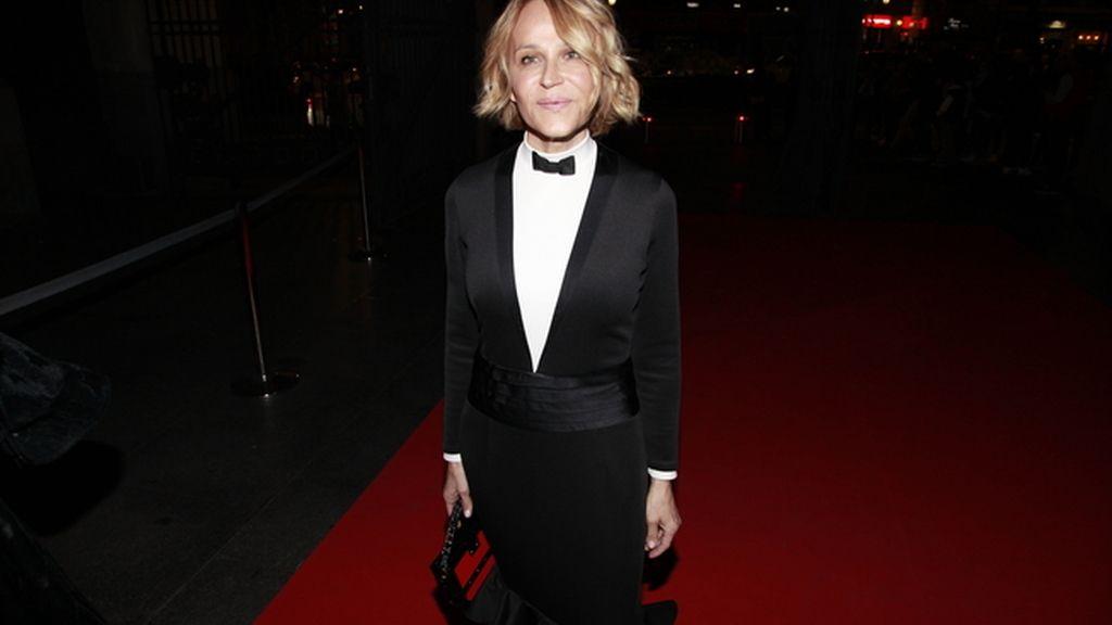 Antonia San Juan escogió para la gala este vestido de Davidelfin