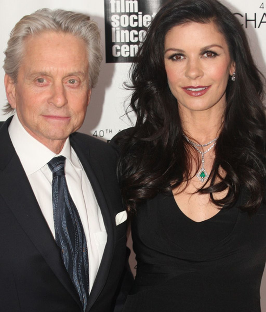 Catherine Zeta-Jones y Michael Douglas