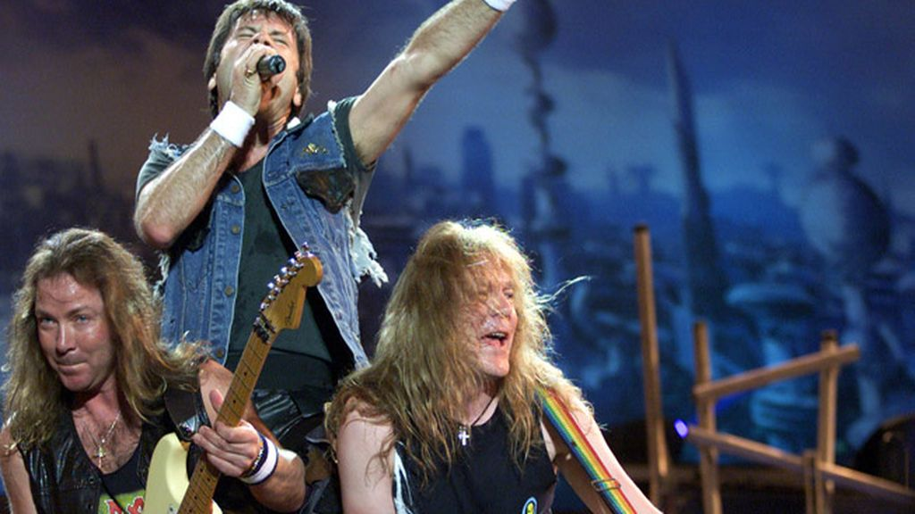 Iron Maiden-Run to the hills