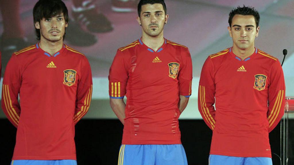 El nuevo uniforme de la selección española