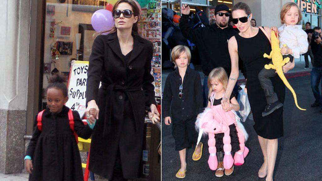 Familia Pitt-Jolie