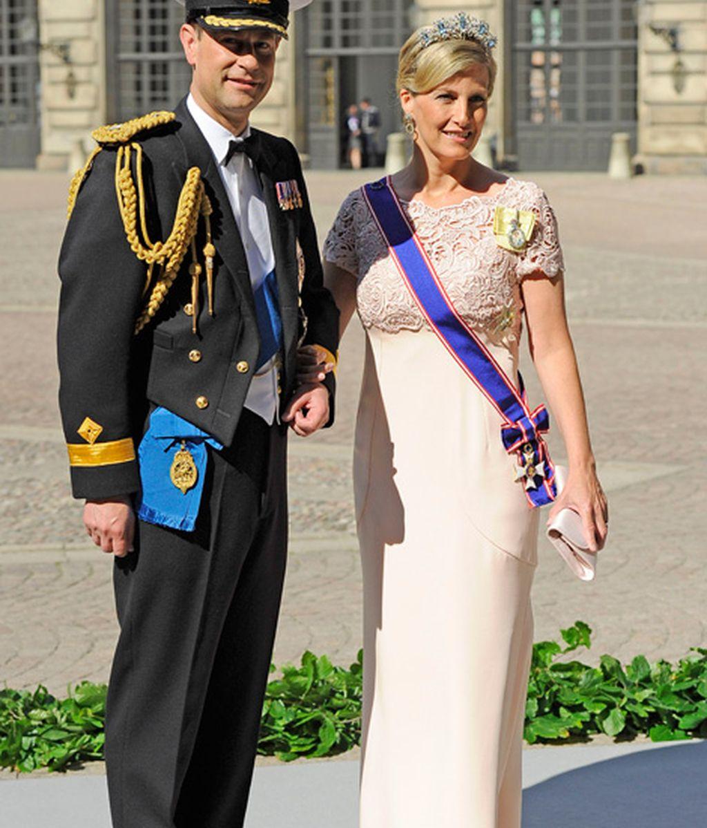 El príncipe Edward y Sophie