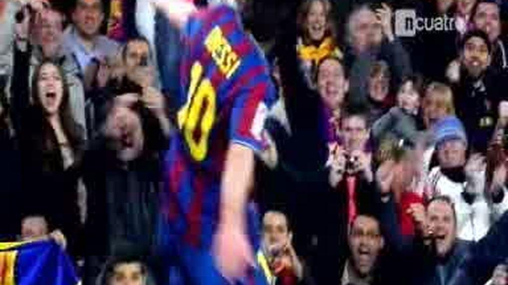 Messi ya ha regresado de vacaciones
