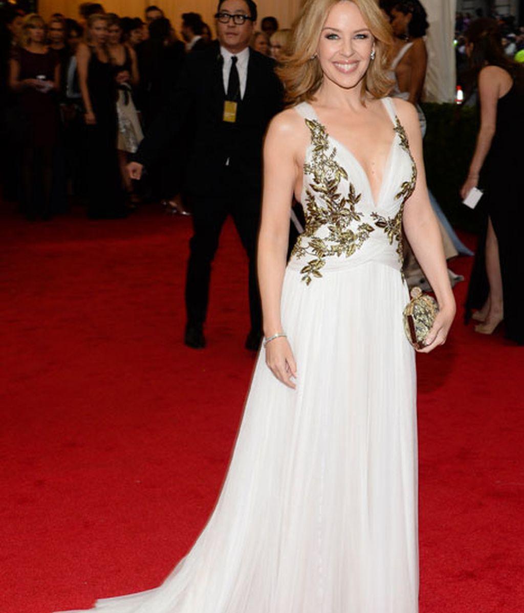 Kylie Minogue de Marchesa