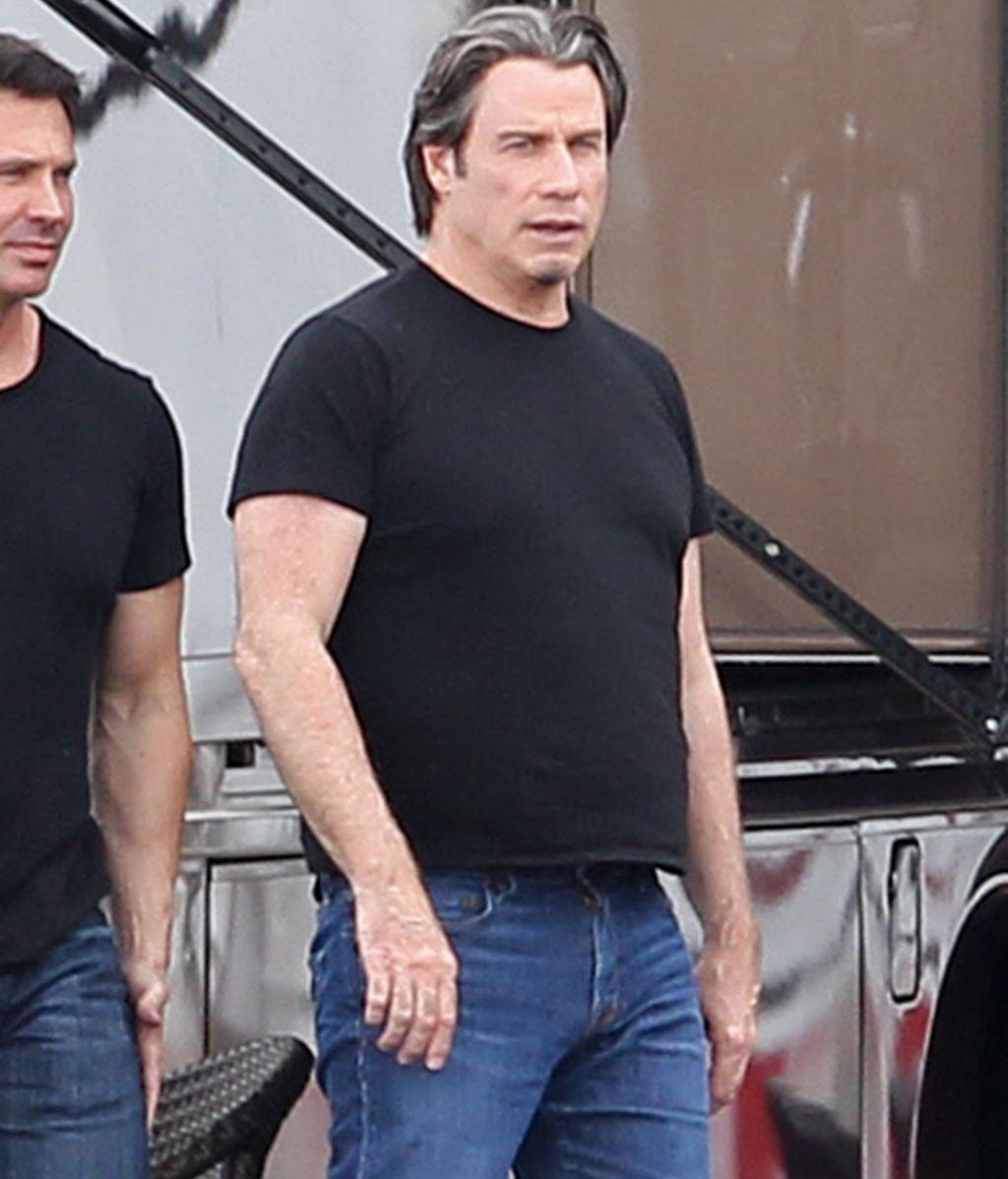 John Travolta gana años y kilos para un nuevo papel