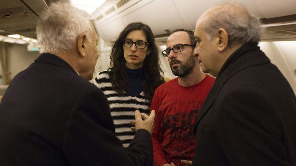 La pareja valenciana que sobrevivió al ataque terrorista en Túnez regresa a España