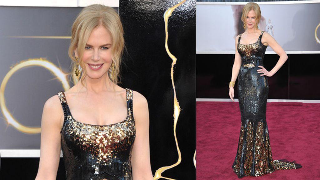 Nicole Kidman encabeza la lista de las peor vestidas