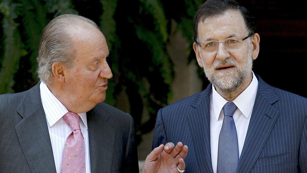 Rajoy y el Rey en Mallorca