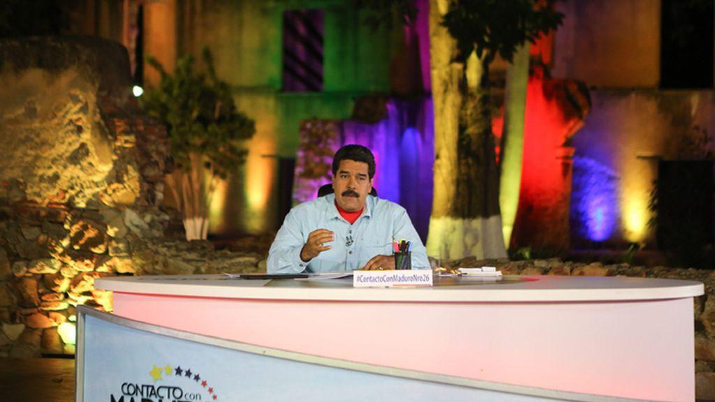 """Nicolás Maduro acusa a Rajoy de """"actividades terroristas"""""""