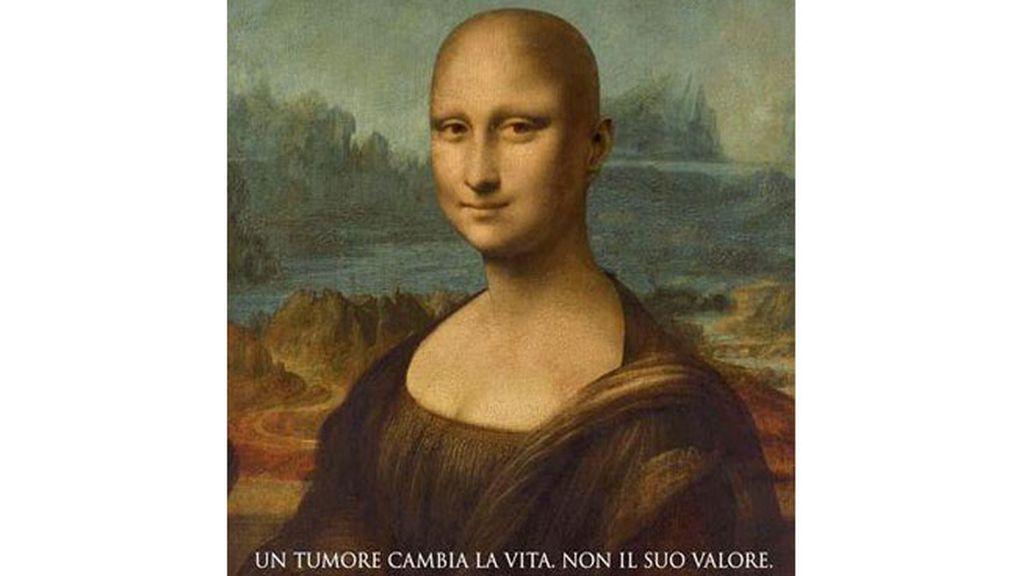Mona Lisa, Gioconda, cáncer, campaña