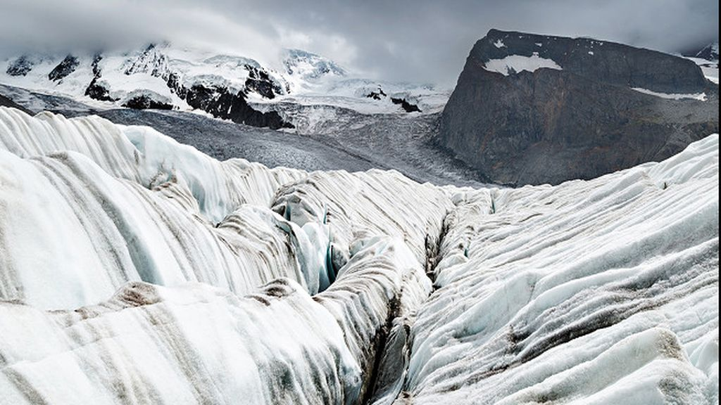 Glaciar suizo